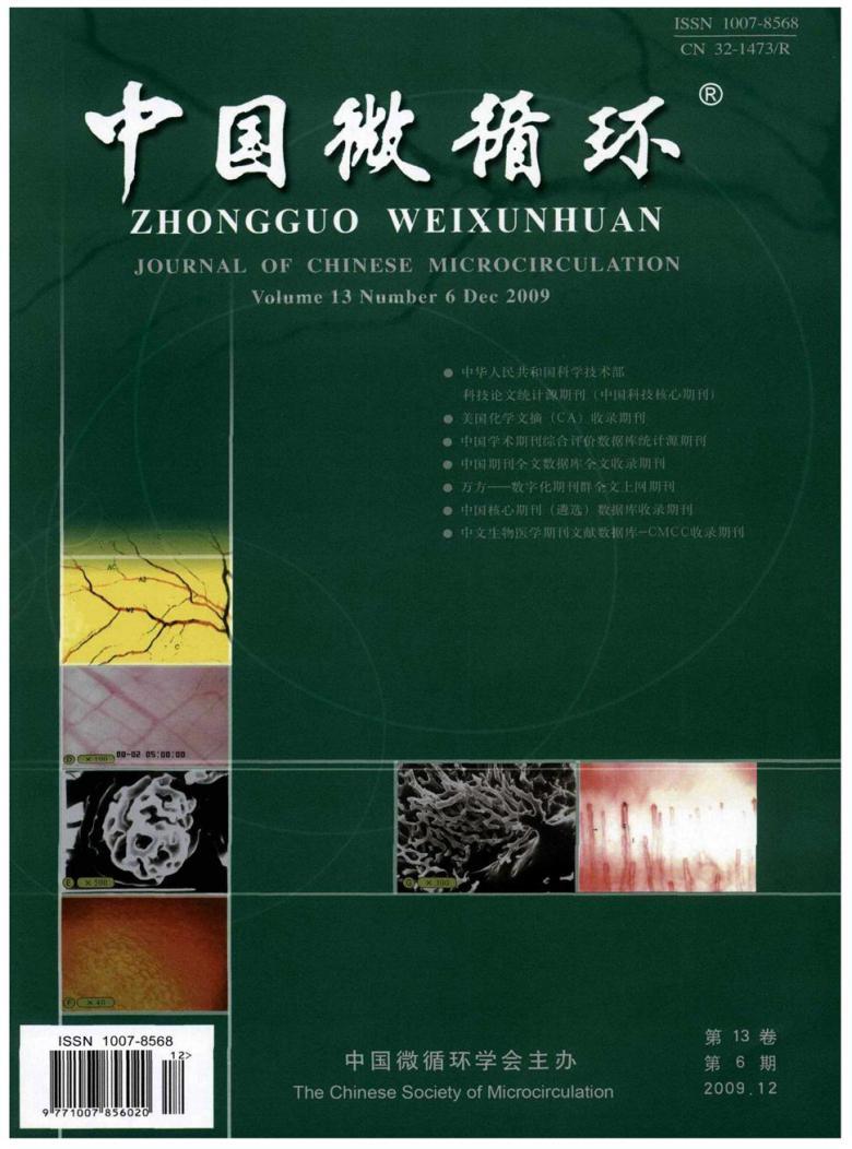 中国微循环杂志