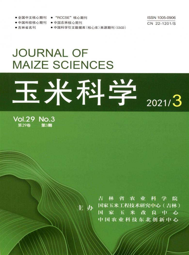 玉米科学杂志