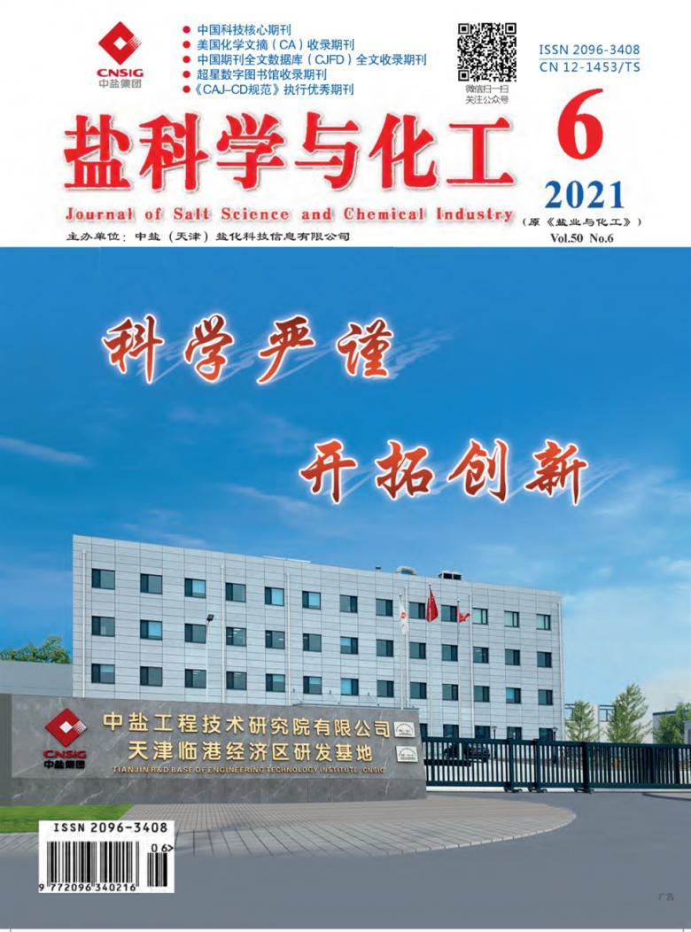 盐科学与化工杂志