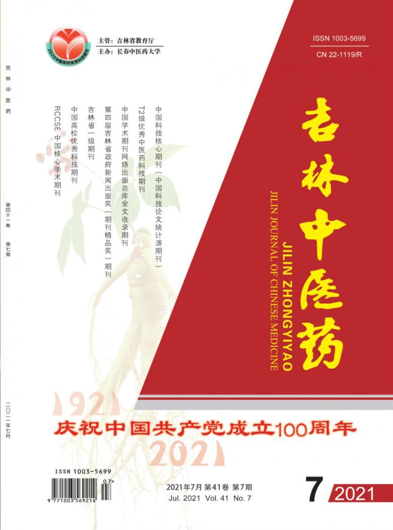 吉林中医药杂志