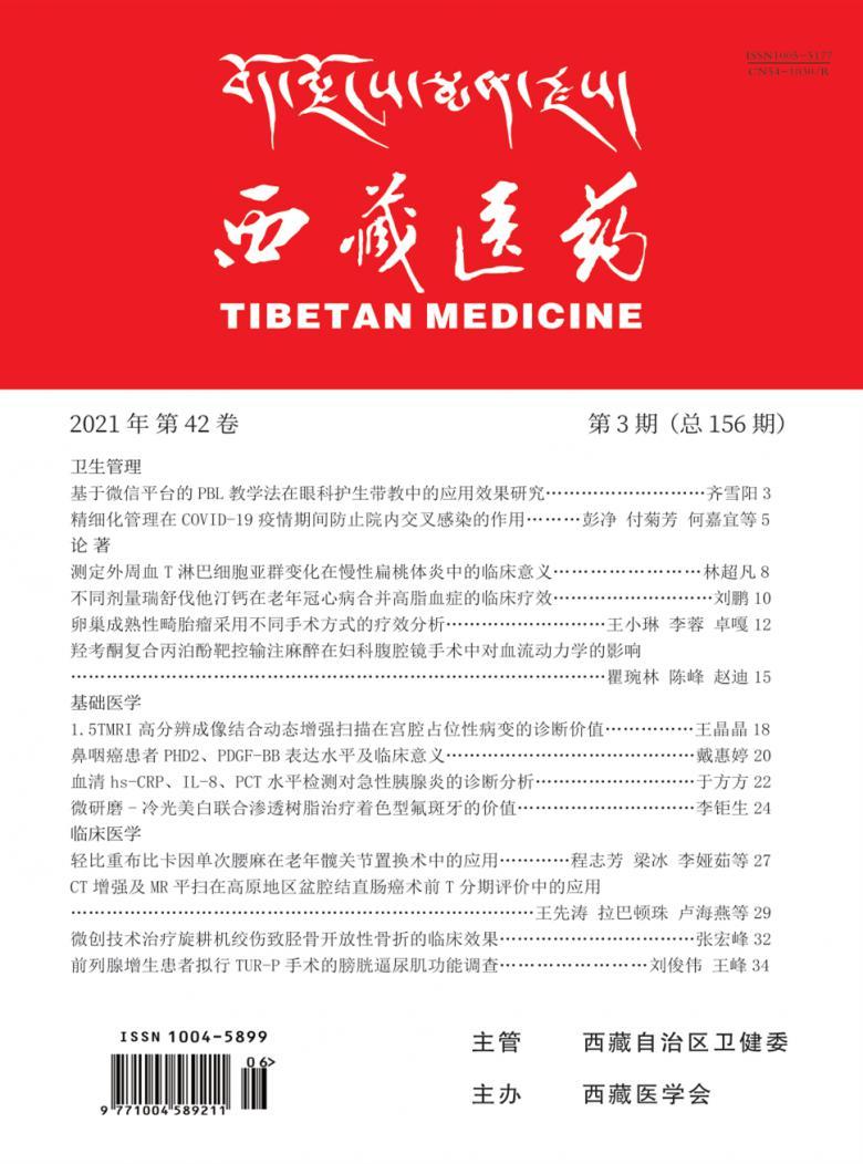西藏医药杂志
