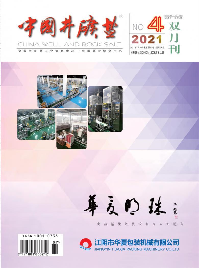 中国井矿盐杂志