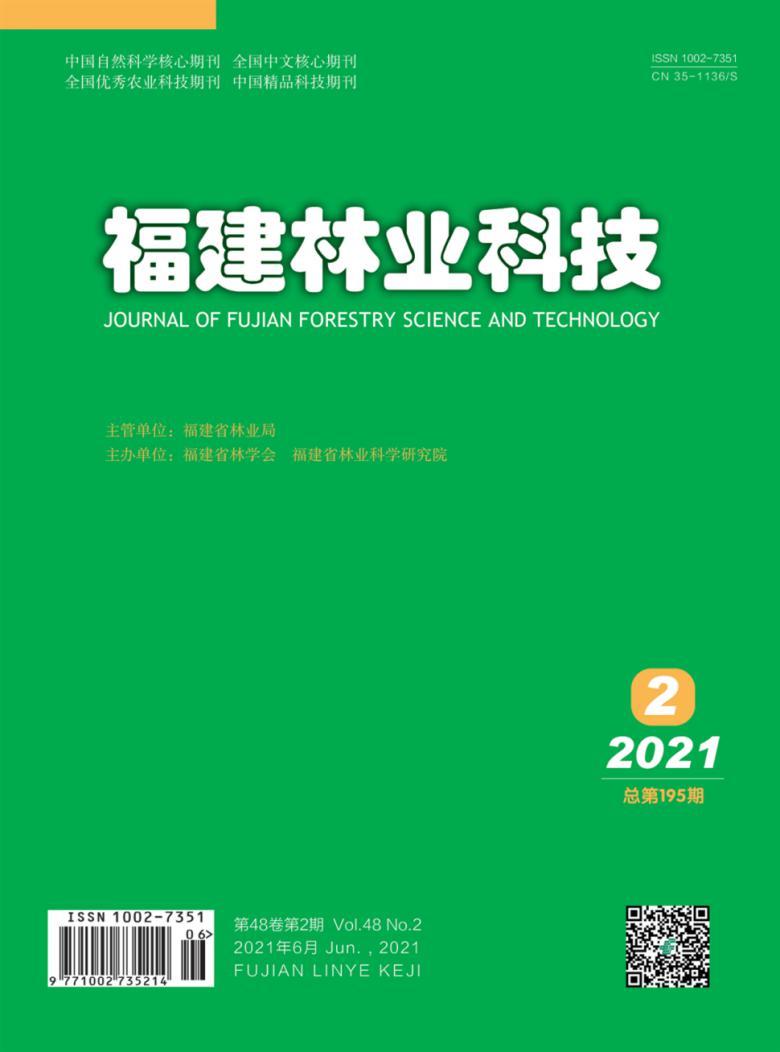 福建林业科技杂志