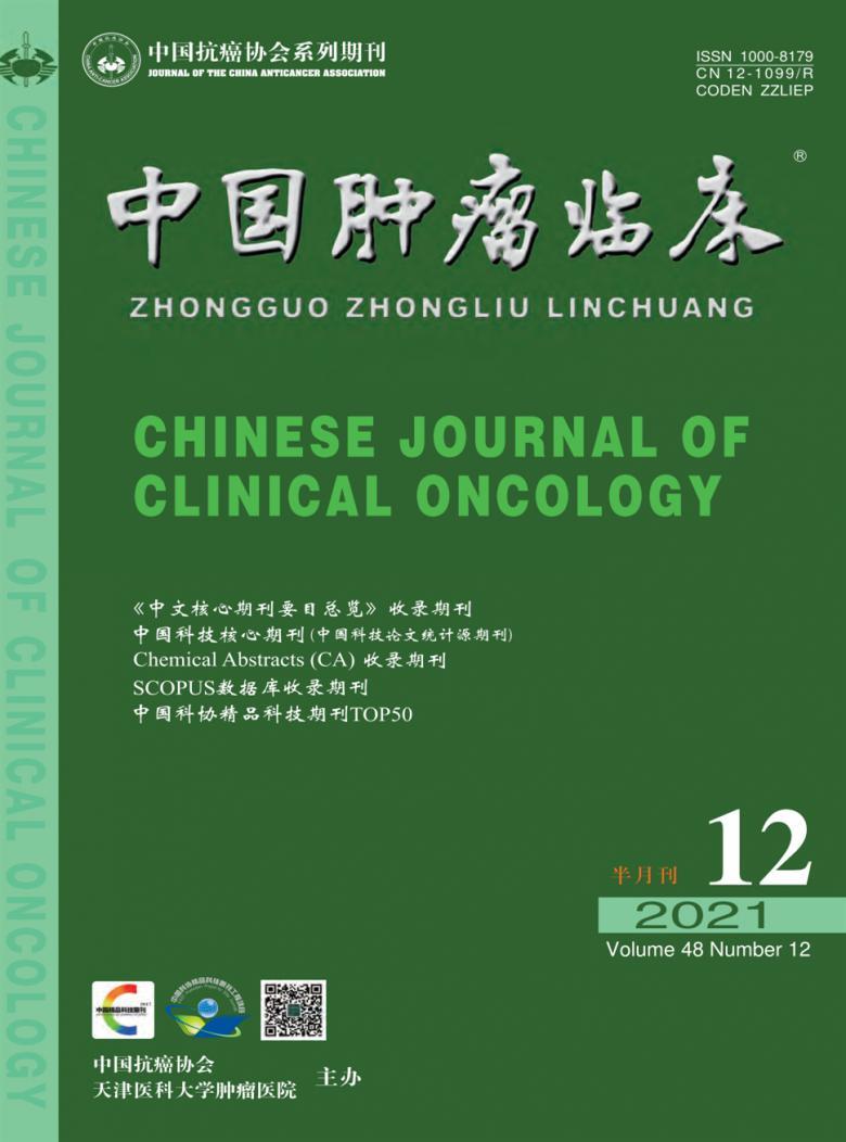 中国肿瘤临床杂志