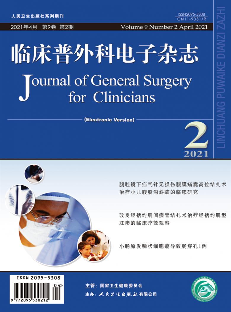 临床普外科电子杂志