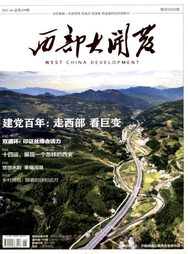 西部大开发杂志