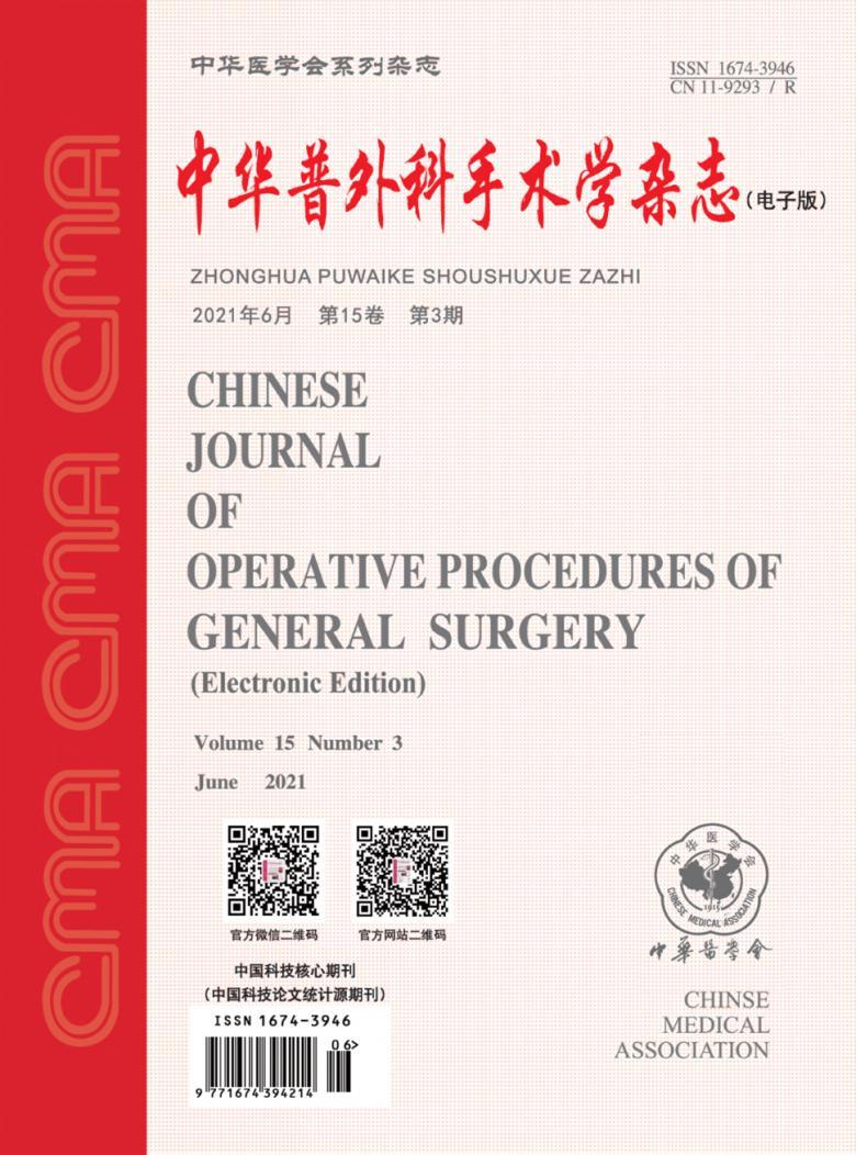 中华普外科手术学杂志