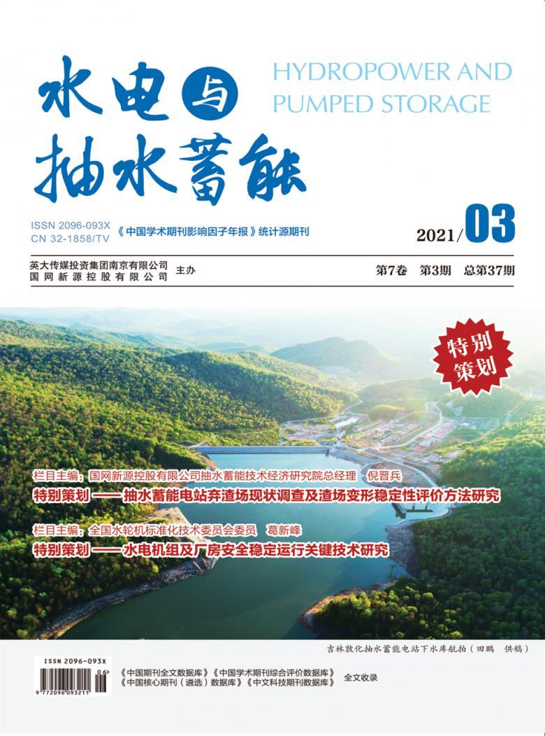 水电与抽水蓄能杂志