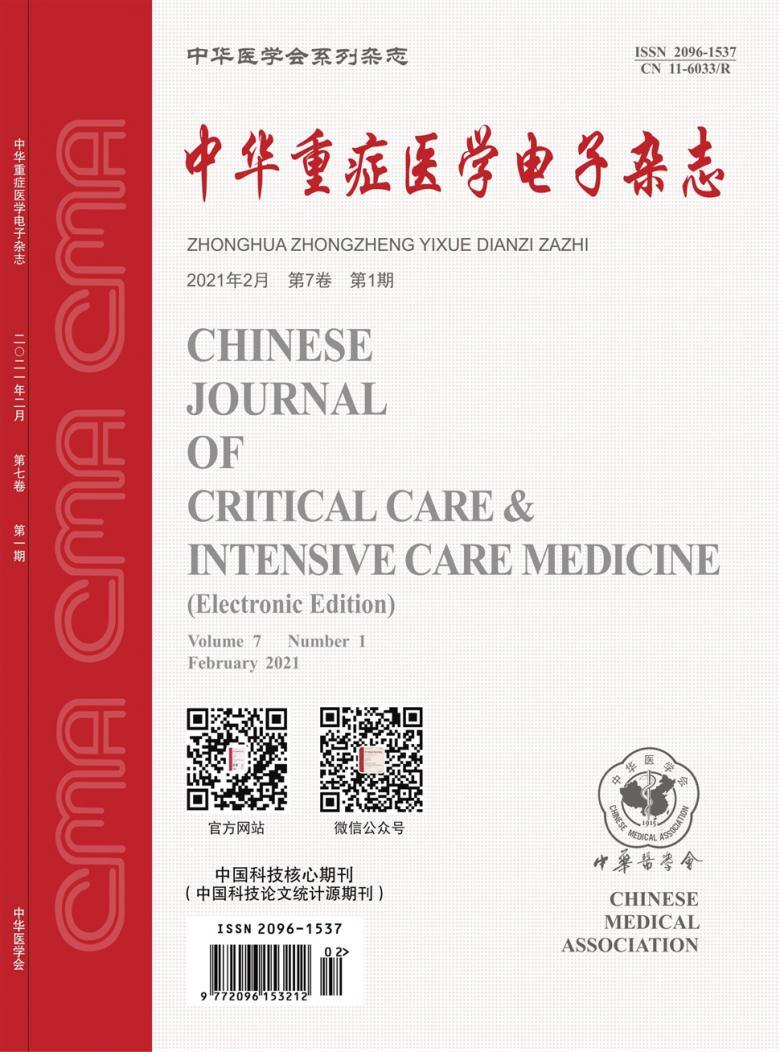 中华重症医学电子杂志