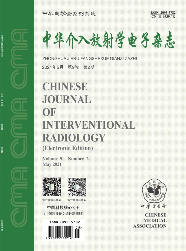 中华介入放射学电子杂志