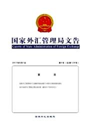 国家外汇管理局文告杂志