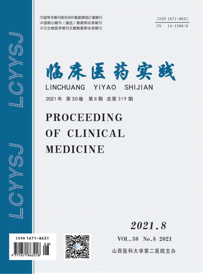 临床医药实践杂志