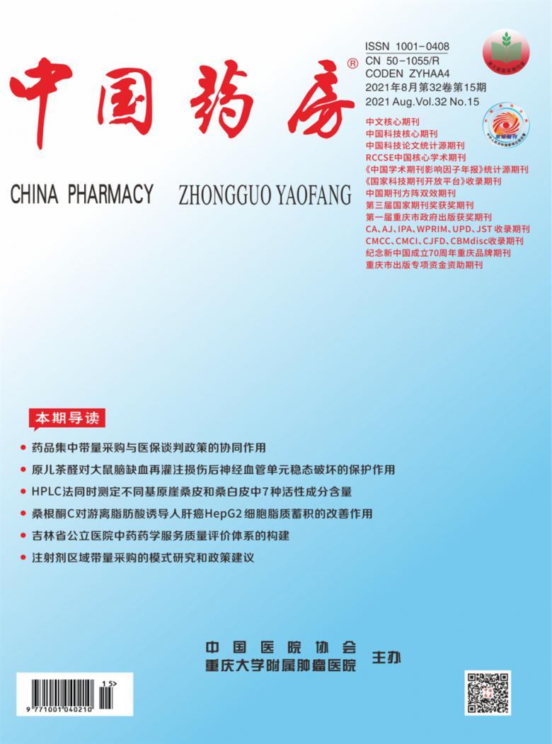 中国药房杂志
