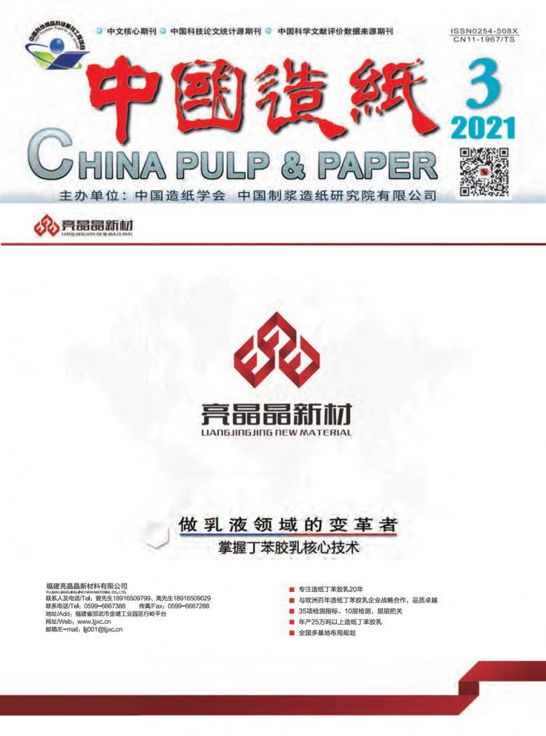 中国造纸杂志