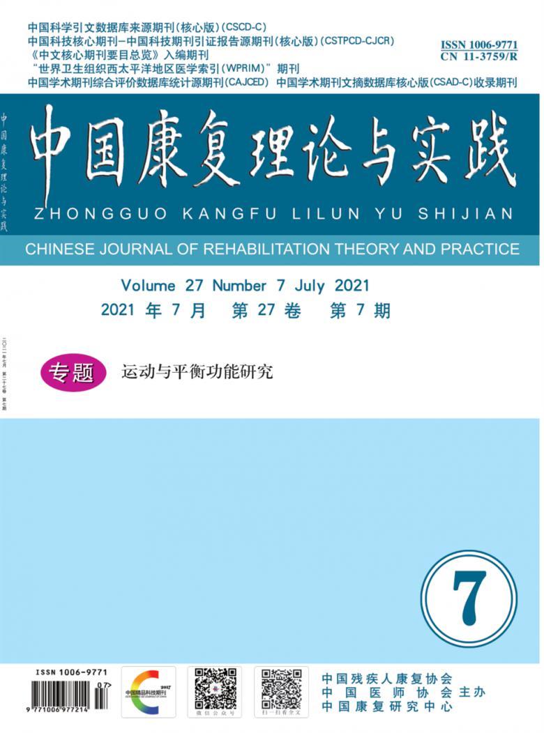 中国康复理论与实践杂志