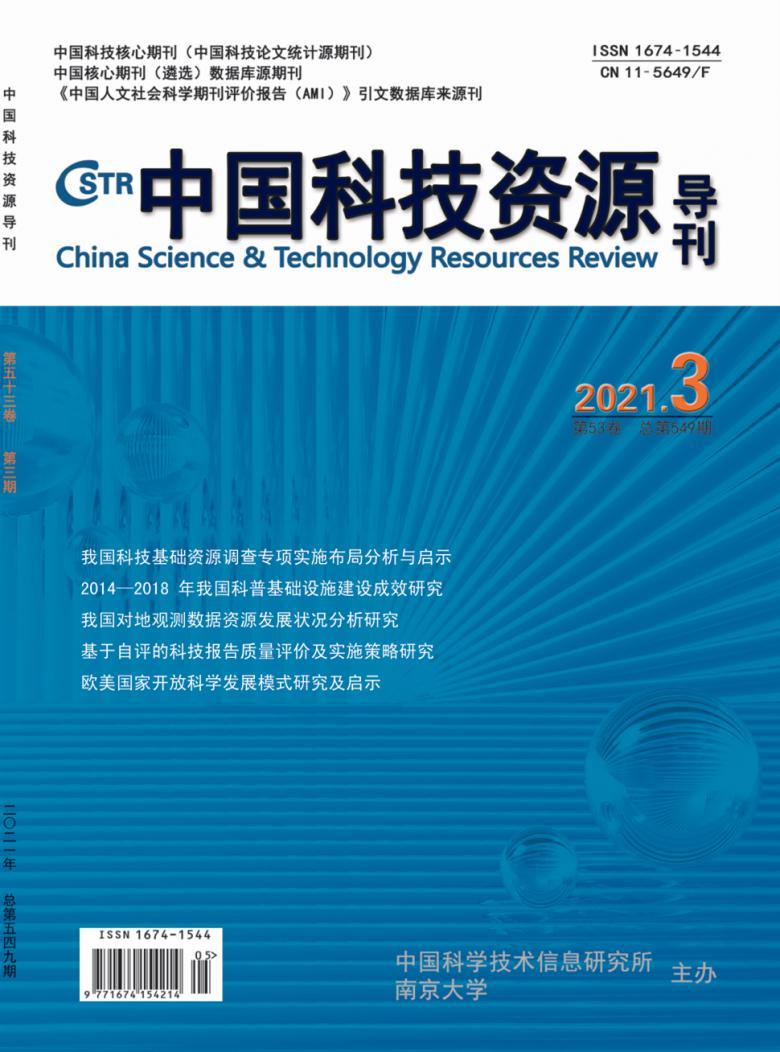 中国科技资源导刊杂志