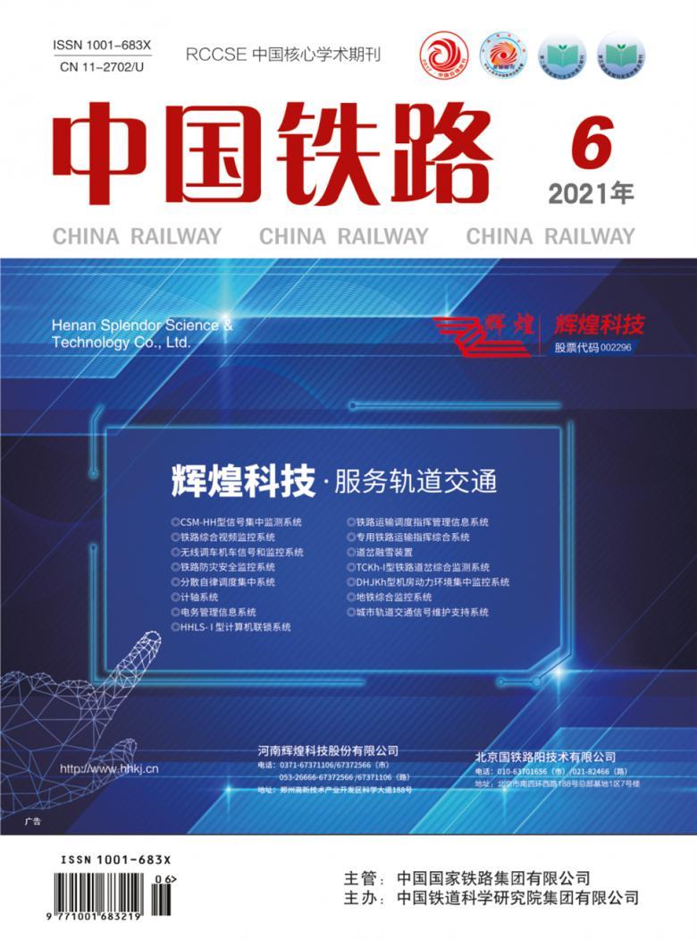 中国铁路杂志