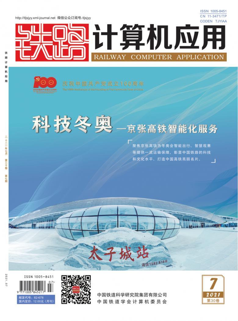 铁路计算机应用杂志