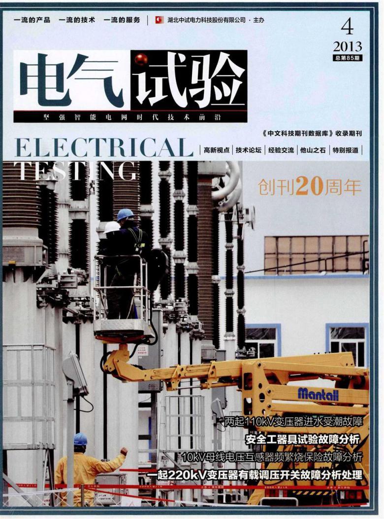 电气试验杂志