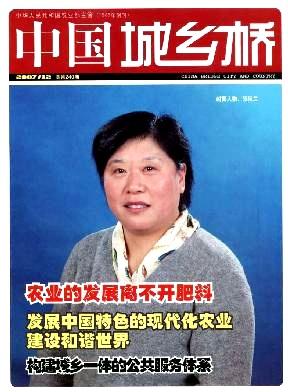 中国.城乡桥杂志