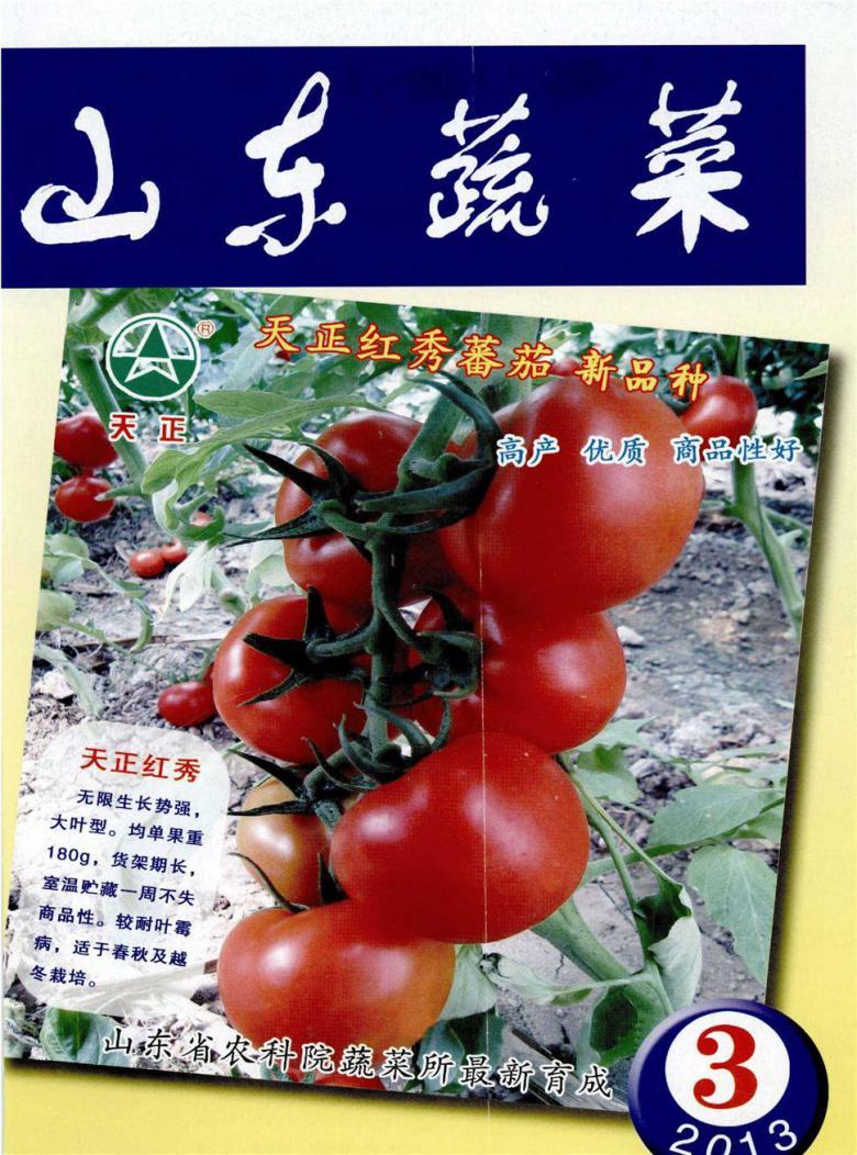 山东蔬菜杂志