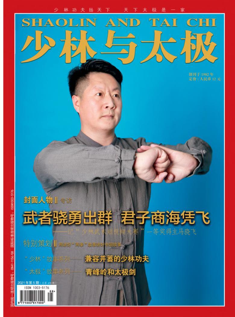 少林与太极杂志