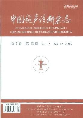 中国超声诊断杂志