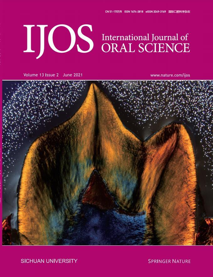 International Journal of Oral Science杂志
